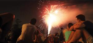 Evanstone Fireworks