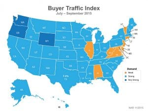 Buyer Traffic 3Q 2015
