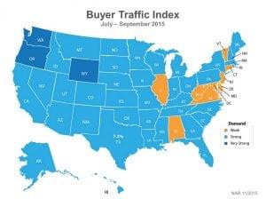Buyer Traffic 3Q 2015