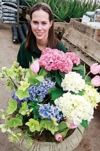 Elizabeth Hoffman of West End Garden Center