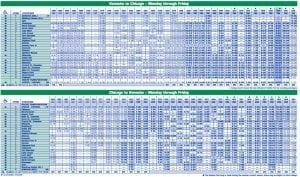 Metra Schedule