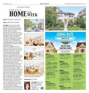 Wilmette Beacon 1025 13th Home of the Week – In the Press