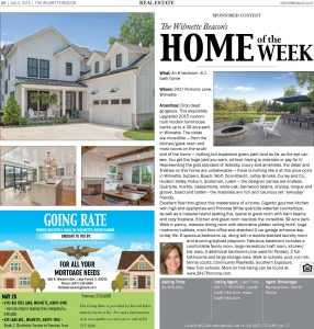 Wilmette Beacon 2417 Pomona Home of the Week – In the Press