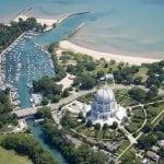 Bahai Temple North Shore  landmark