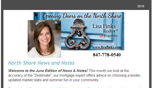 Lisa Finks Newsletter