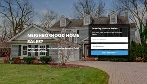 Home Evaluation site
