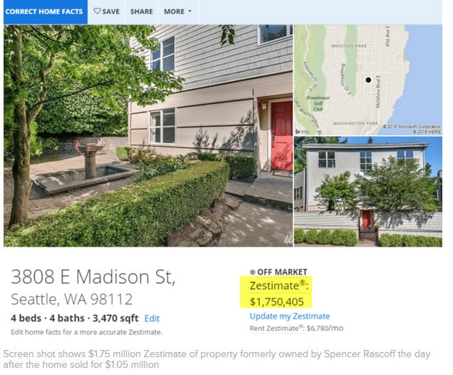 Zillow CEO Home