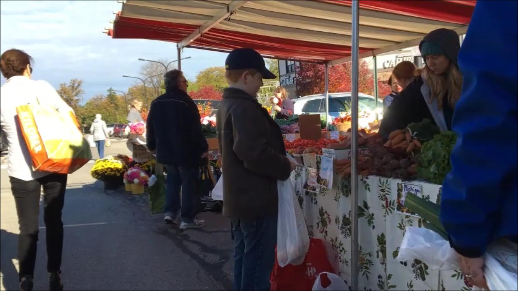 French Market in Wilmette, IL