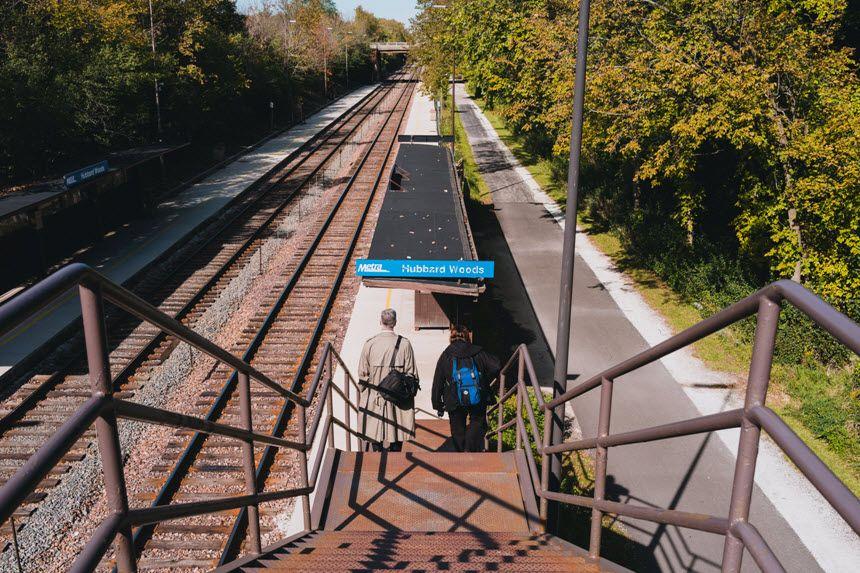 Winnetka Train Station