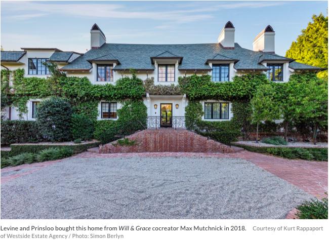 Celebrity Real Estate Adam Levine