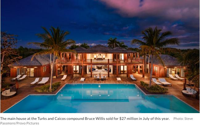 Celebrity Real Estate Bruce Willis