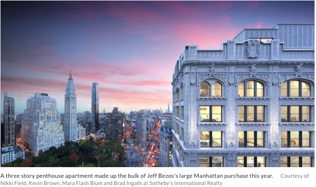 Celebrity Real Estate Jeff Bezos
